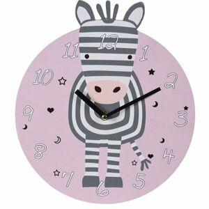 Nástenné hodiny Zebra, pr. 28 cm