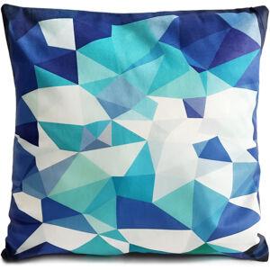 Jahu Obliečka na vankúšik Diamant modrá, 40 x 40 cm