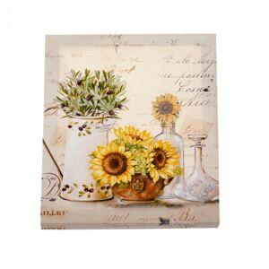 Obraz na plátne Bouquet of sunflowers, 25 x 30 cm