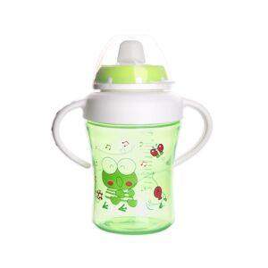 Orion Detský hrnček s pítkom ANIMAL 300 ml, zelená