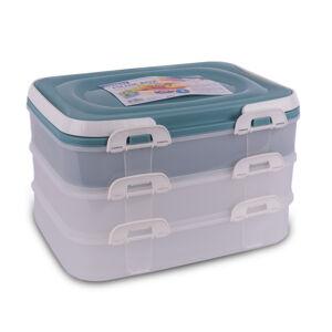 Orion Prenosný box na potraviny 3 poschodia 123949