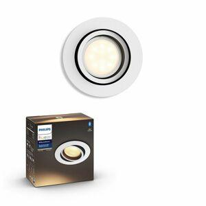 Philips Hue 50411/31 / P9 LED zápustné svietidlo Milliskin 1x5,5W | GU10 | 2200-6500K - Bluetooth, inteligentné