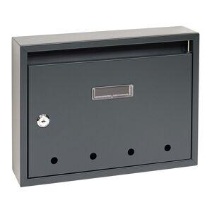 Poštová oceľová schránka BK.24.D.AM