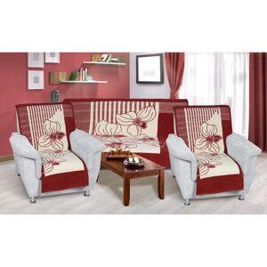 Bellatex Prehozy na sedaciu súpravu Karmela plus Zátišie, 1 ks 150 x 200, 2 ks 65 x 150 cm
