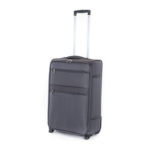 Pretty UP Cestovný textilný kufor TEX15 M, sivá