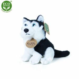 Rappa Plyšový pes husky 16 cm ECO-FRIENDLY