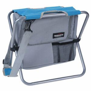 Redcliffs Kempingová skladacia stolička s chladiacou taškou, modrá