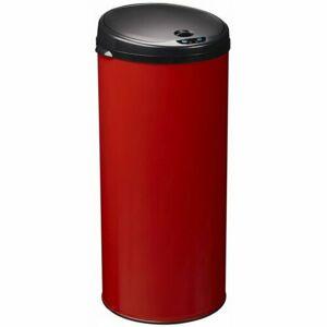 Rossignol Bezdotykový odpadkový kôš Sensitive 45 l, červená