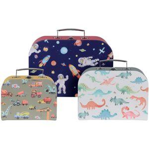 Sada detských kufrov Boy´s choice, 3 ks
