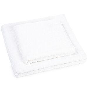 Profod Sada uteráka a osušky Jerry biela, 50 x 100 cm, 70 x 140 cm
