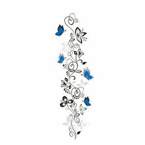 Samolepiaca dekorácia vášeň motýľov,