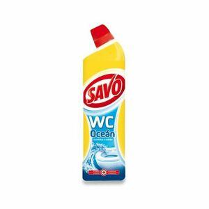 Savo Dezinfekcia bez chlóru WC čistič Oceán 750 ml