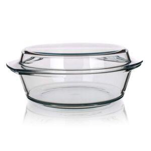 Simax Pekáč sklenený okrúhly s vekom 2,1 l