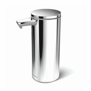 Dávkovač Simplehuman mydla bezdotykový – 266 ml, leštený, nerez oceľ, dobíjací