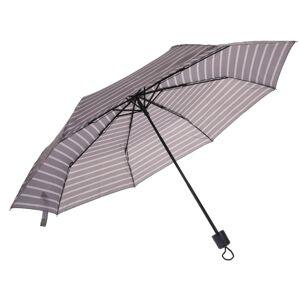 Skladací dáždnik sivá, 52,5 cm