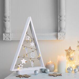 Solight Vianočný stromček 15 LED diód, teplá biela