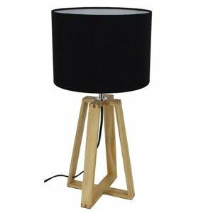 Tempo Kondela Stolná lampa Jade 3, čierna