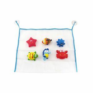 Teddis Sada gumových zvieratiek do vane, 6 ks, vo vrecku