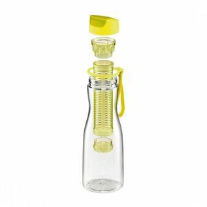 TESCOMA fľaša na nápoje s vylúhovaním PURITY 0.7 l, žltá