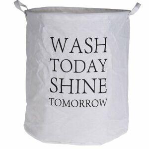 Textilný kôš na bielizeň Wash today, 40 x 50 cm