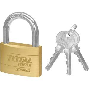 Total Tools Visiaci zámok s kľúčmi, 3 cm