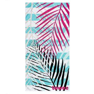 Towee Rýchloschnúca osuška PALMS PINK, 70 x 140 cm