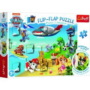TREFL Okénkové puzzle Tlapková patrola 36 dílků