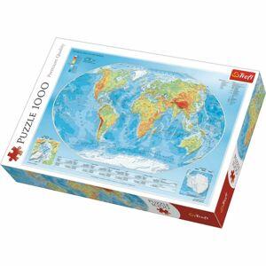 Trefl Mapa světa 1000 dielov puzzle