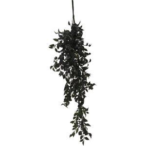 Umelá závesná rastlina Adie zelená, 80 cm