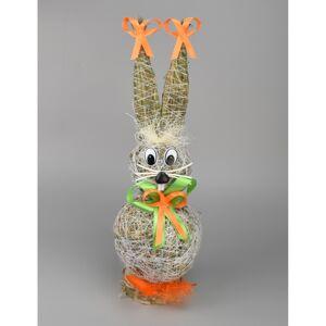 Veľkonočný slamený zajac, 30 cm