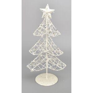 Vianočná dekorácia Stromček s perličkami, 30 cm