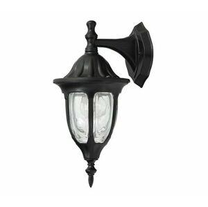 Vonkajšie nástenné svietidlo Rabalux Milano čierna 8341