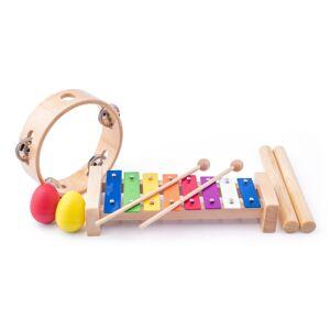 Woody Sada hudobných nástrojov, 5 ks