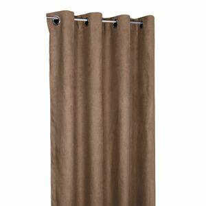 Forbyt Zatemňovací záves Suedine cappucino, 140 x 240 cm, sada 2 ks